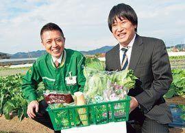 朝採れ野菜が翌日昼には香港の食卓に