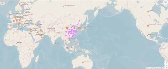 地球上のさまざまな気候帯に新型コロナウイルスは感染している
