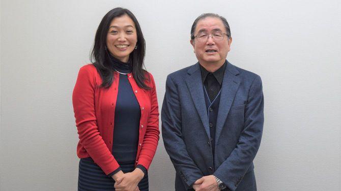 太田啓子さん(左)、村瀬幸浩さん(右)
