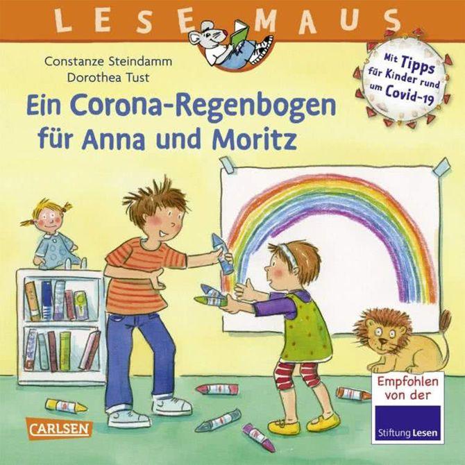発売停止となった『アンナとモーリッツのためのコロナの虹』(独カールセン社)