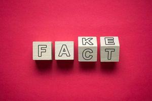 事実と偽の混乱