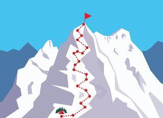 何となくエベレストに登頂した人はいない