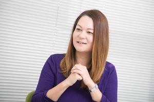 ドイツ出身のコラムニスト、サンドラ・ヘフェリンさん