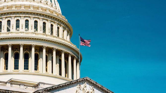 米国国会議事堂ドーム