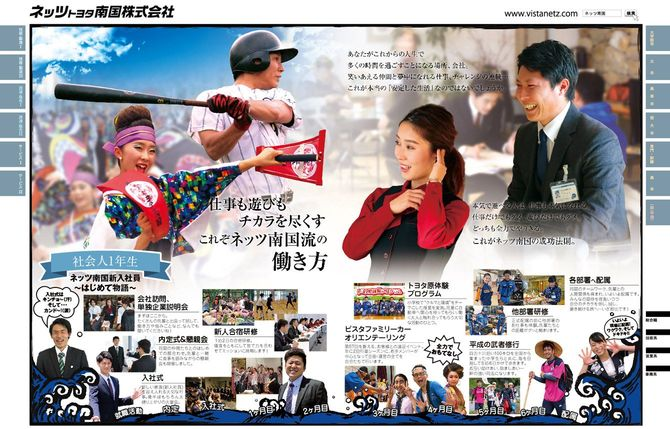ネッツトヨタ南国の採用広告