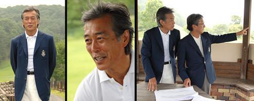 岩城さんはゴルフを始めたばかり。「今は辛いし、くやしいだけ。だからハマッちゃうんだね」。この日は理事長を務める「ケントス ゴルフ クラブ」のクラブハウス改装のアドバイザーとして、同ゴルフ場を訪れた。