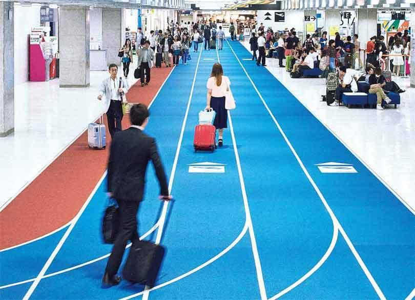 空港に陸上トラックが出現! 「成田国際空港第3ターミナル」