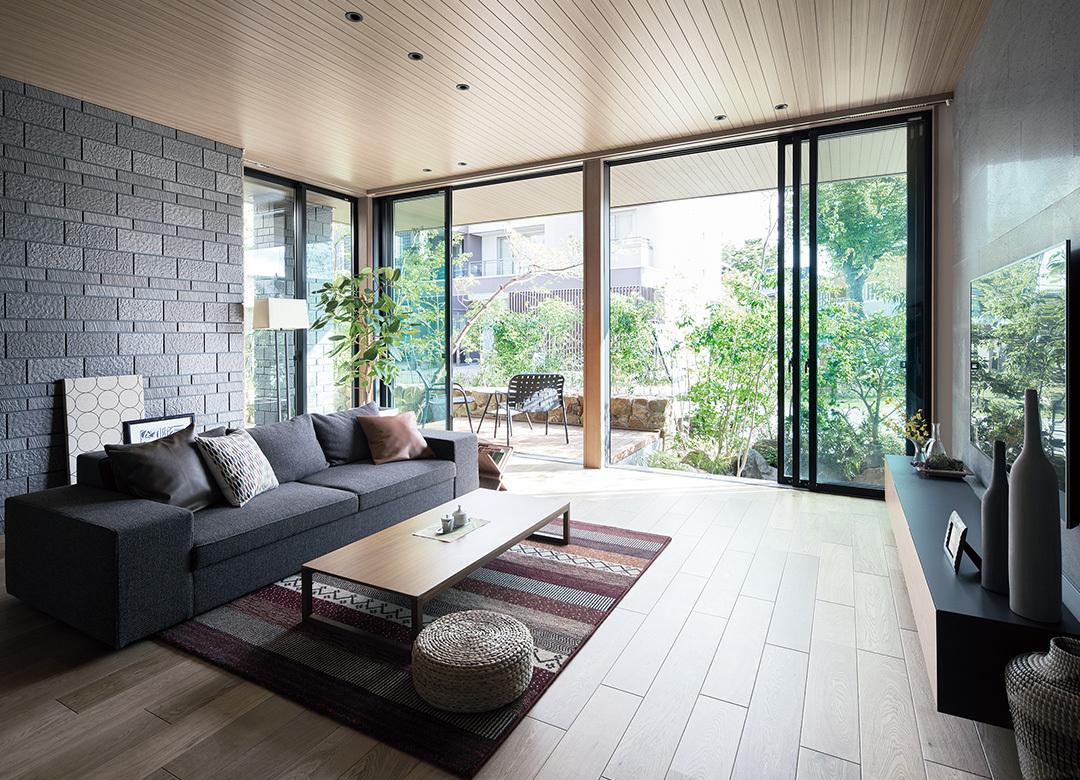 美しさのなかに、最上級のゆとり 住宅業界最高クラスの鉄骨住宅商品