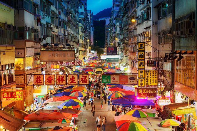 ストリートマーケット香港