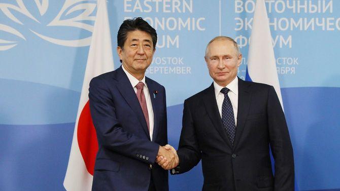 2019年9月5日、ウラジオストクでの27回目の安倍―プーチン会談