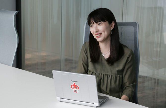 ミクシィ デザイン本部 制作室 Webデザイングループ/マネージャーの姜 少眞(Kang Sojin)さん