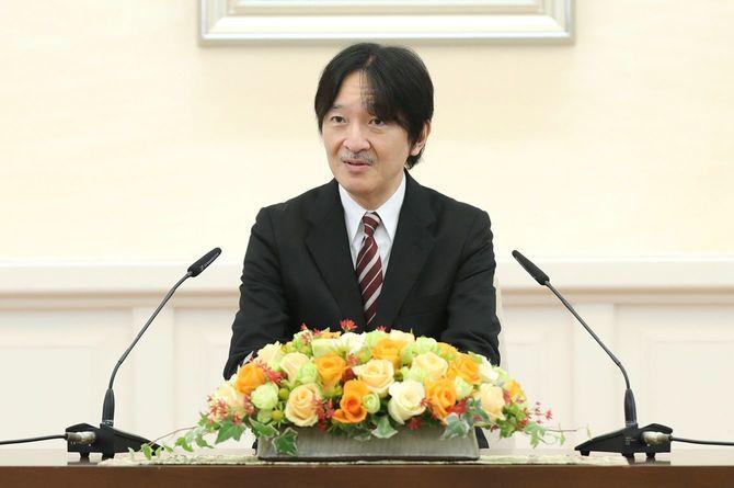55歳の誕生日を前に記者会見をされる秋篠宮さま
