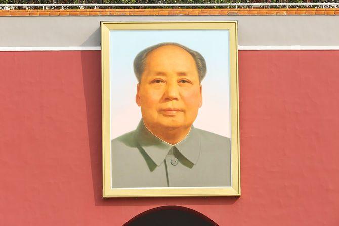 毛沢東のポートレート