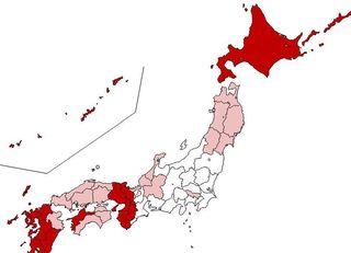 九州・近畿の男は東京の男より、ハーレム