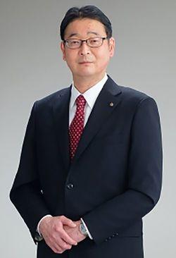 現社長の近藤忠登史氏(写真=電気興業ウェブサイトより)