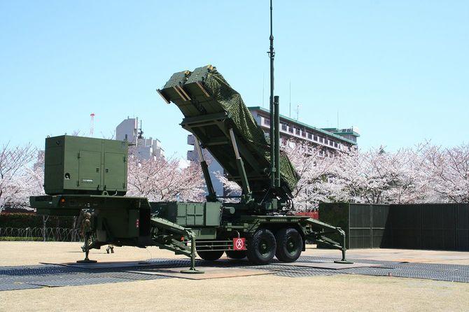 地対空誘導弾ペトリオット(PAC-3)