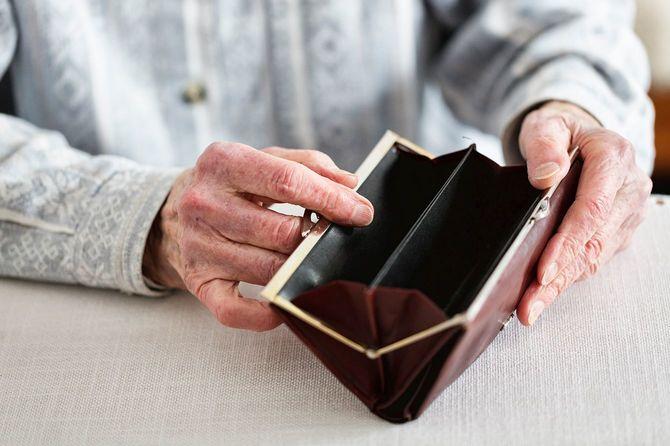 高齢者の財布