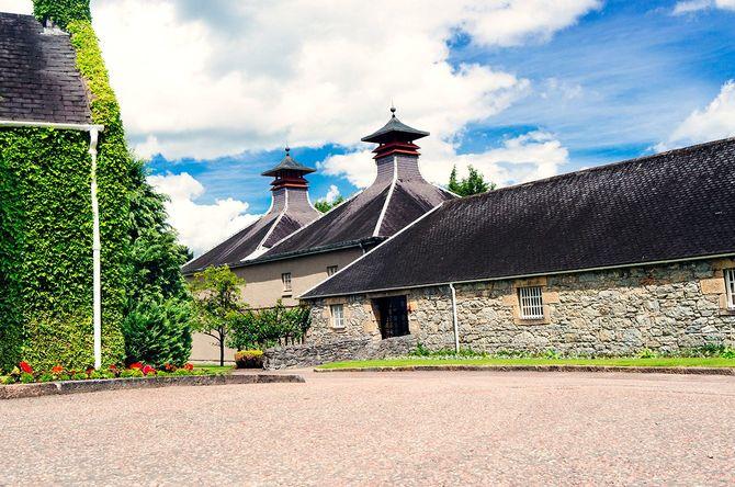 スコットランドの人気観光地の一つとなっているグレンフィディック蒸留所