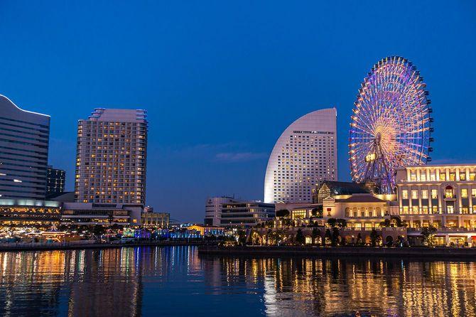 横浜日本の美しい夜景