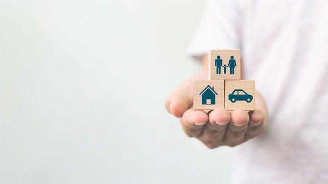 家、家族、車