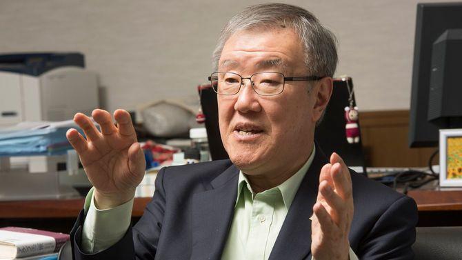 APU学長の出口治明氏