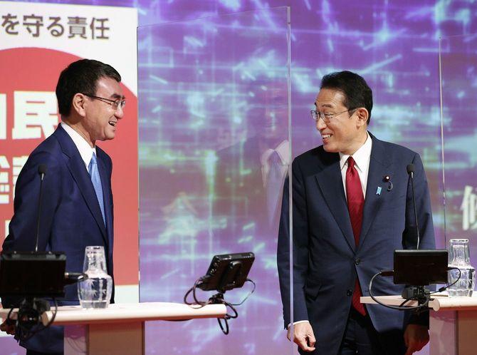 自民党総裁選/インターネット番組で討論会