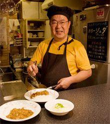 <strong><57歳で出店>和田 茂<br></strong>1948年、東京都生まれ。53歳のときに日本アイ・ビー・エムを早期退職。その後はIT系コンサルタントの傍ら、カレーづくりに開眼し、専門店出店を決意。定めた開業資金内での物件探しは苦労したというが、かつての勤務先界隈で土地勘のある茅場町(中央区新川)に決定、内装は手づくり・再利用を心がけ、半年後「カリー シュダ」を開店。