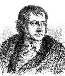 ゲオルク・ヴィルヘルム・フリードリヒ・ヘーゲルの肖像