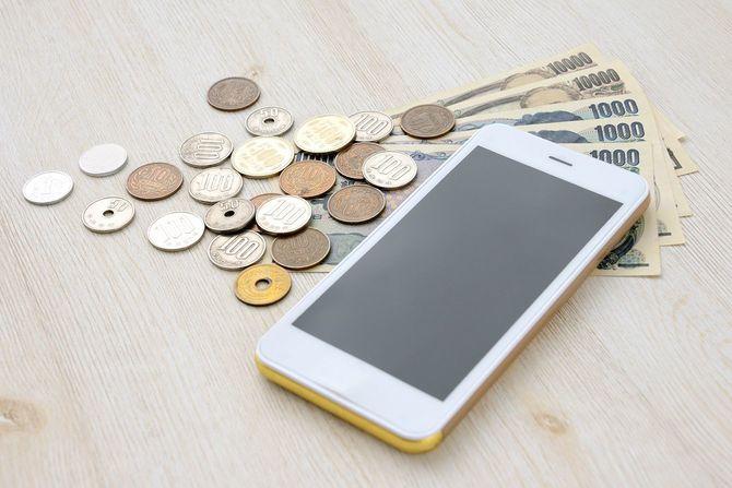 スマートフォンと日本のお金