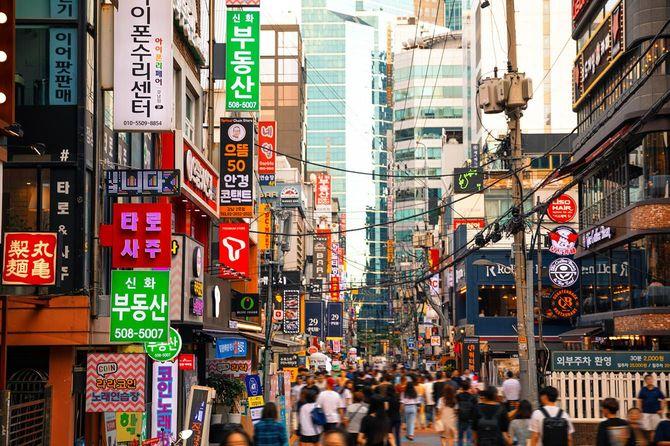 アジアの街