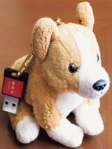 コーギー犬のキーホルダー