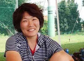 「チームは家族です」-兼松由香