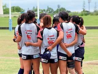 女子ラグビー日本代表、目標は常に世界一