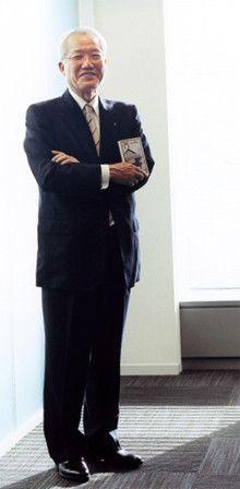<strong>三菱電機 野間口 有 会長</strong>●1940年、鹿児島県生まれ。65年京都大学大学院理学研究科修士課程修了後、同社入社。2006年から現職。知的財産権に関する要職も歴任。08年4月のロシア訪問では、ロシア人通訳の操る日本語のレベルの高さと、ロシア料理の美味しさに思わず感動したと語る。