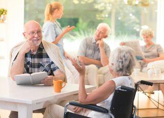 入居者の昼食でバレる老人ホームの満足度