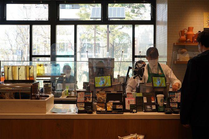 nonowa国立店には、客が指差しで注文できるよう独自のメニュー表がある