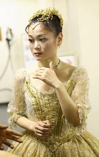 吉田都―なでしこの舞、英国王室を魅了す