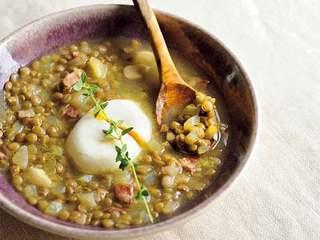 食べるスープ・レンズ豆のスープのレシピ