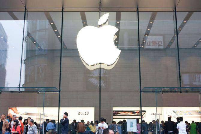 上海のApple Store