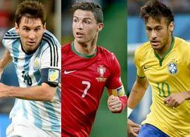 ブラジル代表監督が語るメッシ、ロナウド、ネイマール