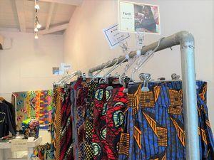 ラハ・ケニアの商品。今年4月に東京で行ったポップアップストアで