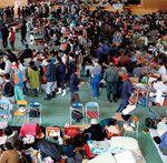 物資不足が避けられない避難生活では、身近な用品の賢い活用法を知っておくことが大いに助けになるだろう。(Bloomberg/Getty Images=写真)