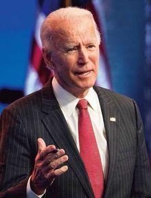 ジョー・バイデン次期米大統領。