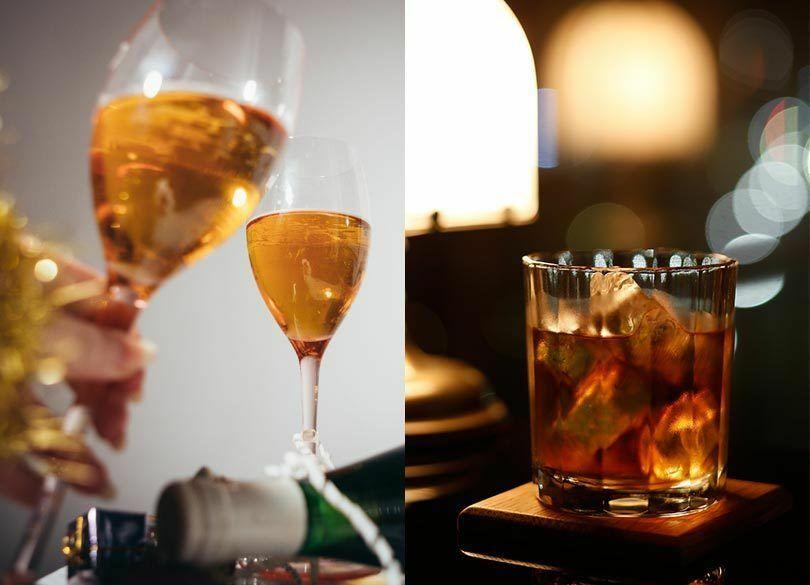 休日、酒を飲むなら、仕事に役立つ人? 関係ない人?