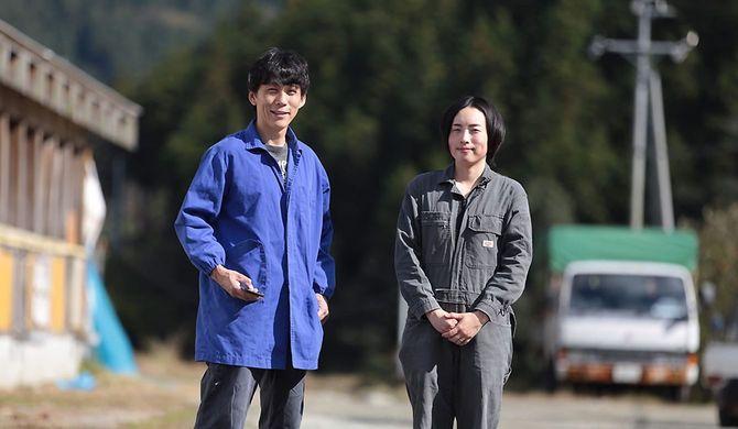 田中一馬さんと妻のあつみさん