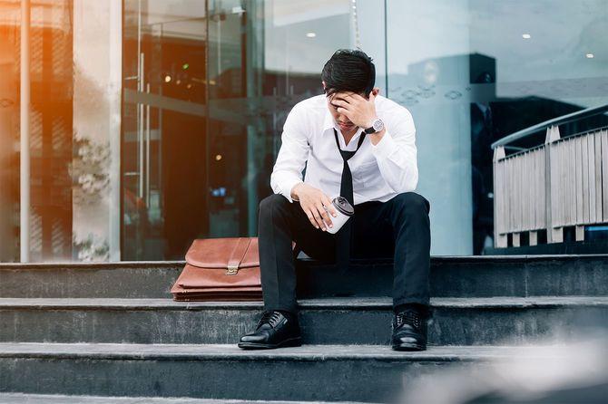 失業疲れやストレス