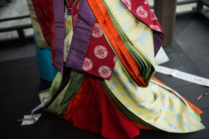 日本の伝統的な衣装
