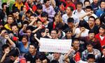 10月16日~、四川省成都など内陸部の都市で次々と反日デモが発生した。(PANA=写真)