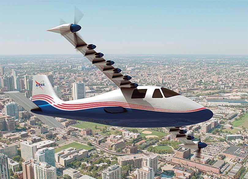 着々と実用化に近づく電気飛行機
