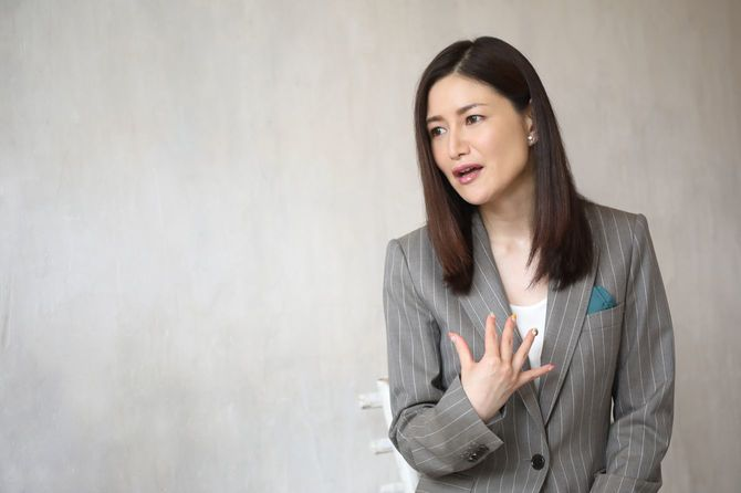信州大学特任准教授の山口真由さん